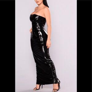 Dresses & Skirts - Long latex dress